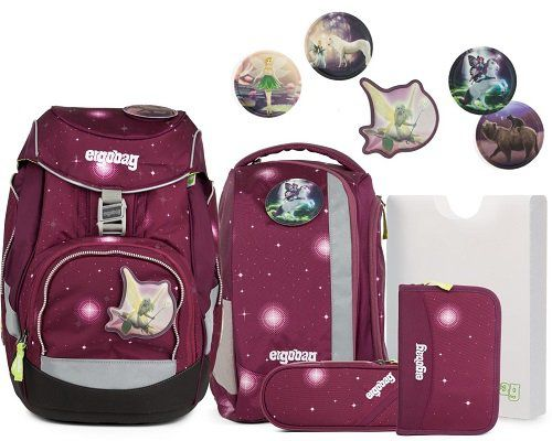 ergobag Pack Schulranzen Set mit 5 Kletties ab 163,90€ (statt 249€) + gratis Sporttasche (40cm)