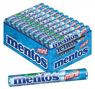 40 Rollen Mentos mint (Pfefferminze) für 11,13€ (statt 20€)