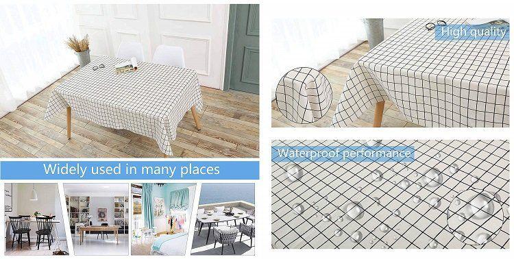 DECMAY Tischdecken in zwei Größen & verschiedenen Designs für je 7,49€ (statt 15€)