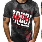 OZONEE T-Shirts mit Rundhals und diversen Mustern für je 6,95€