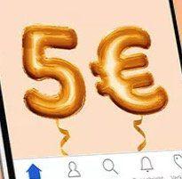 ? eBay: 5€ Gutschein ohne MBW über die App   nur ausgewählte Kunden?