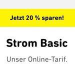 *nur 500 Mal* Yello Basic Stromangebote mit 20% Rabatt + 50€ BestChoice Gutschein – günstiger als Check24 und Verivox!