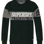 Superdry Triple Drop Track Sweatshirt in dunklem Grün oder Weiß für je 37,76€ (statt 49€)