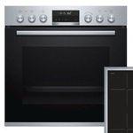 Bosch HND674OS60 Einbauherd-Set mit Induktions-Kochfeld und Pyrolyse für 999€ (statt 1.138€)