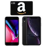 o2 Free M mit 20GB LTE ab 39,99€ mtl. + iPhone 8 für 1€ + 20€ Amazon Gutschein oder iPhone XR für 49€