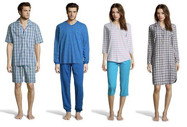 Seidensticker Nachtwäsche bei vente privee   z.B. 2 tlg. Herren Pyjama ab 14,99€(statt 30€)