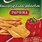 12er Pack funny-frisch Chips Cracker Paprika (je 90g) ab 11,29€ (statt 18€)