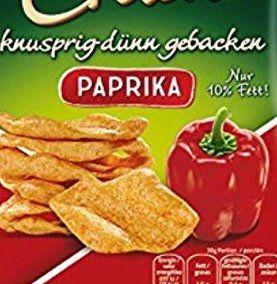 12er Pack funny frisch Chips Cracker Paprika (je 90g) ab 11,29€ (statt 18€)