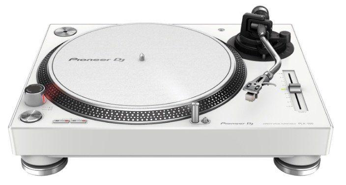 Ausverkauft! Pioneer PLX 500 Plattenspieler in Weiß für 269€ (statt 330€)