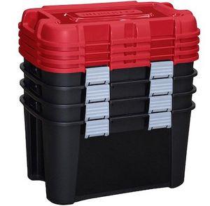 4er Pack Allibert Totem Aufbewahrungsbox je 60 Liter für 45,90€ (statt 100€)