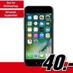iPhone 7 mit 32GB für 40€ + Vodafone Smart Surf mit 50 Min/SMS und 2GB für 16,99€ mtl.