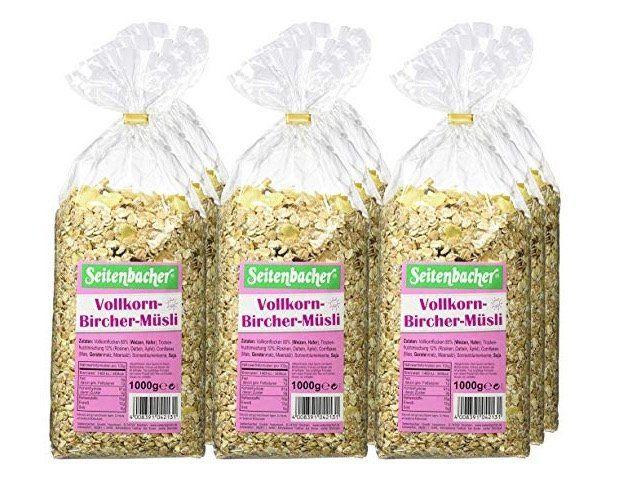Vorbei! 9kg Seitenbacher Vollkorn Bircher Müsli ab 11,97€ (statt 33€)