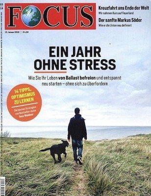 Focus Jahresabo für nur 24,90€ (statt 218,40€)   Knaller!