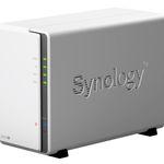 Synology DS218j NAS 2-Bay für 150,78€ (statt 160€)