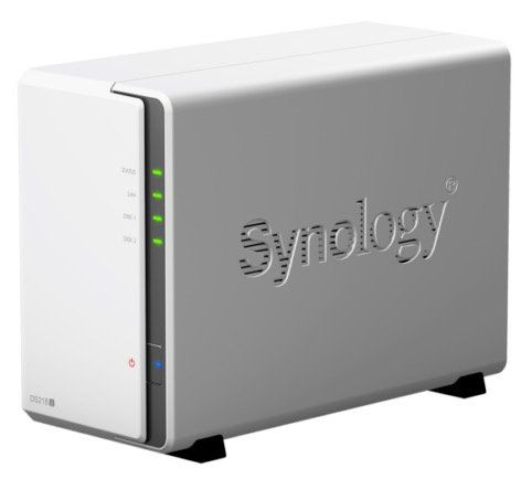 Synology DS218j NAS Leergehäuse 2 Bay für 149,90€ (statt 164€)