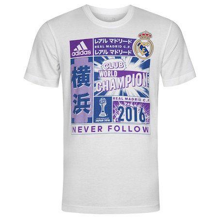 adidas Real Madrid Club World Champion WM T Shirt für 5,06€ (statt 9€)