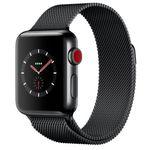 Apple Watch Series 3 (GPS + LTE) 38mm mit Milanaise für 396€ (statt 449€)