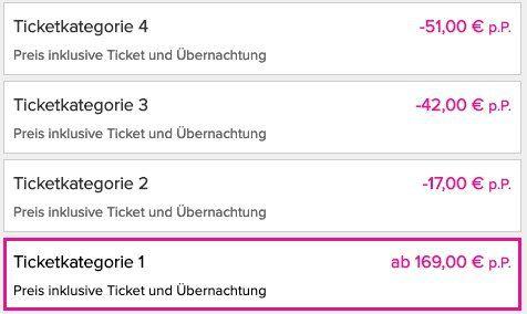 Musical Tickets inkl. Hotel bei vente privee   z.B. König der Löwen PK 1 ab 169€ p.P.