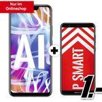 Huawei Mate 20 Lite + Huawei P smart für 4,95€ + o2 Allnet-Flat mit 5GB LTE für 28,99€ mtl. + 2. SIM gratis inkl. Allnet-Flat