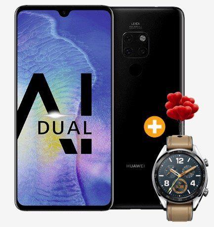 Huawei Mate 20 + Huawei Watch GT für 4,95€ + Vodafone Allnet Flat on otelo mit 5GB LTE für 29,99€ mtl.