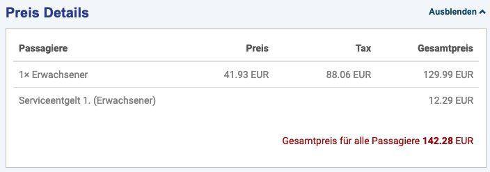 Hinflug von Frankfurt nach Male (Malediven) mit Condor inkl. Handgepäck für 142,28€