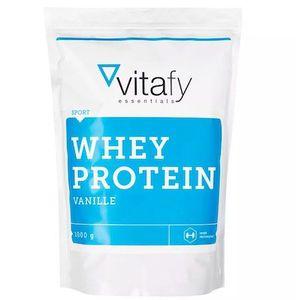Ausverkauft! 1kg vitafy Whey Protein Essentials für 5,99€ zzgl. VSK (statt 14€)   ab 49€ keine VSK