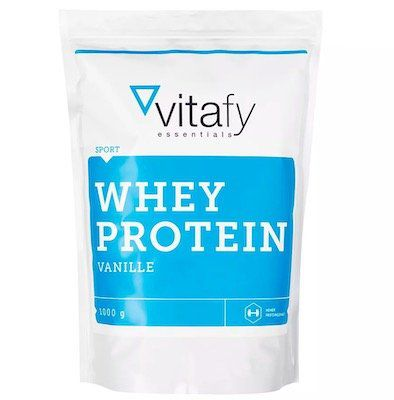 1kg vitafy Whey Protein Essentials für 9,88€ inkl. VSK (statt 14€)   MHD 23.04.2019