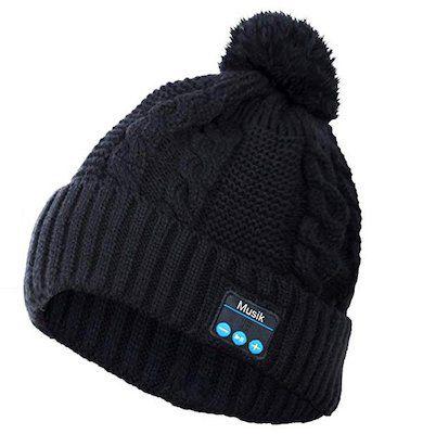 Beanie Damen Wintermütze mit integrierten Lautsprechern/Kopfhörern ab 12,49€