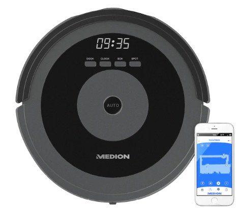 Medion MD 17225 Saugroboter mit intelligenter Lasernavigation für 299,95€ (statt 333€)