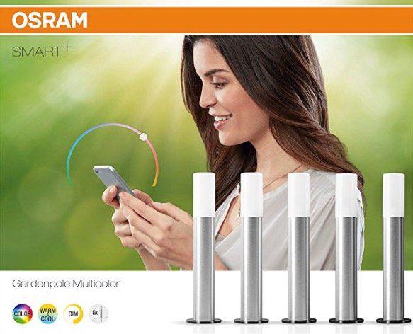 5x Osram Mini Smart+ LED Außen /Gartenleuchten für 30,99€ (statt 45€)
