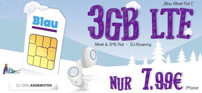 JBL Free X für 39€ (statt 129€) + o2 Allnet L von Blau mit 3GB LTE für 7,99€   oder 5GB LTE für 12,99€