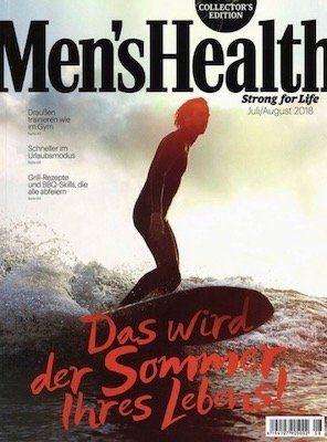 Knaller! 🔥 1 Jahr Men's Health gratis (!) + einmalig nur 5,95€ VSK (statt 60€)