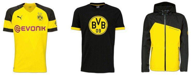 BVB Sale von Puma bei vente privee   z.B. Regenjacke mit verstellbarer Kapuze ab 29,99€ (statt 43€)
