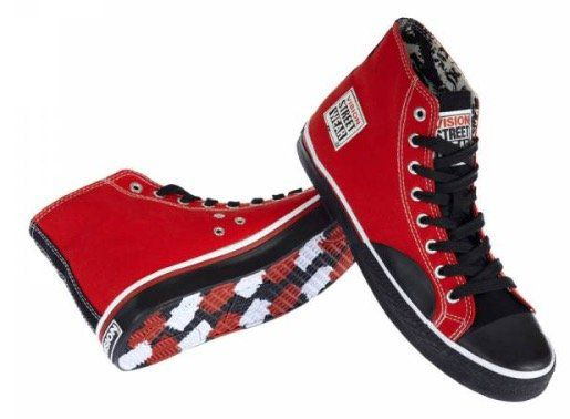 Mehrere Vision Street Wear Schuhe für je 8,88€ zzgl. 3,95€ VSK