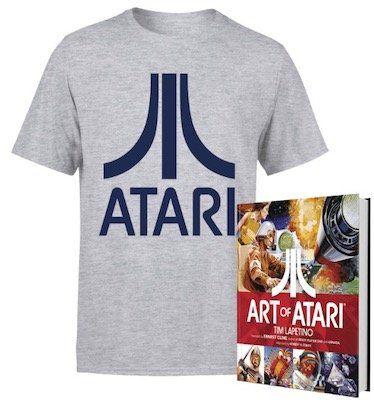 Atari T Shirt + Buch Art of Atari für 18,38€   oder mit Pullover für 28,38€