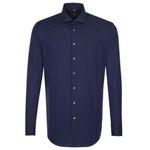 Seidensticker Sale bei eBay mit Restgrößen – z.B. blaues Business Langarm Hemd mit Kent-Kragen für 31,99€ (statt 40€)