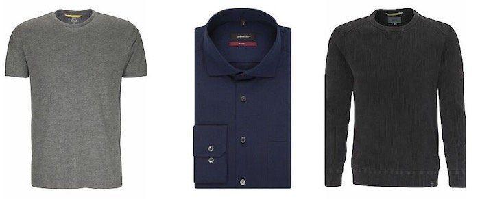 Seidensticker Sale bei eBay mit Restgrößen   z.B. blaues Business Langarm Hemd mit Kent Kragen für 31,99€ (statt 40€)