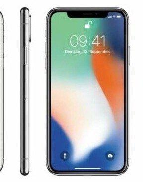 Apple iPhone X 256GB [gebraucht] in Grau für 329,90€ (statt neu 536€)