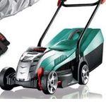 Bosch Rotak 32 Li Akku-Rasenmäher (4Ah) + Handschuhe + Regenschutz für 244€ (statt 294€)