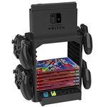 Nintendo Switch Ständer mit Controller-Halterungen und für max. 10 Spiele für 19,90€(statt 37€)