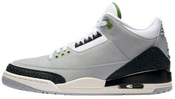 Air Jordan 3 Retro Basketballschuhe für 120,91€(statt 133€)