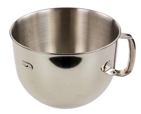KitchenAid 5KR7SB Edelstahl Rührschüssel 6,9l für 44,44€ (statt 65€)