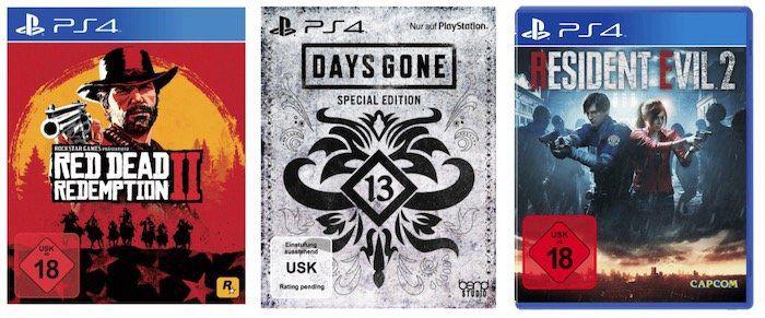 Günstige PS4 Spiele beim Media Markt   lohnt oft nur bei Abholung in der Filiale