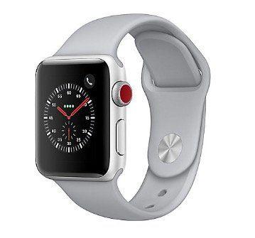 Apple Watch Series 3 38mm (GPS + LTE) in Silber für 249€ (statt 306€)