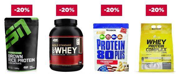 Fitmart: 20% Rabatt auf alle Proteine + 15% auf diverse Diätprodukte