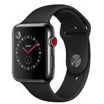 Apple Watch Series 3 (GPS + Cellular) mit Edelstahl-Gehäuse 42mm und Sportarmband für 349€ (statt 403€)