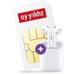 Apple Airpods + o2 Allnet-Flat von Ay Yildiz mit 4,5GB LTE für 11,99€ mtl.