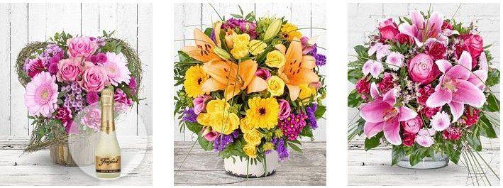 11€ Blumen Gutschein bei Valentins.de mit nur 19,99€ MBW