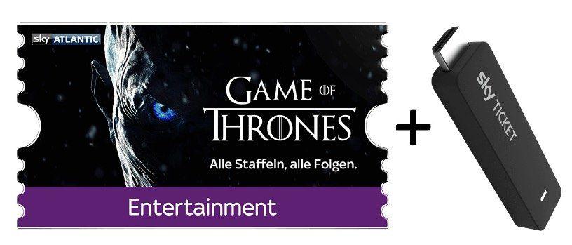 3 Monate Sky Entertainment Ticket inkl. TV Stick für 29,99€ (andere Pakete möglich)
