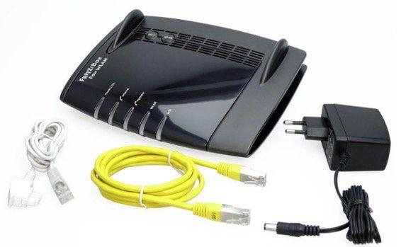 FRITZ!Box WLAN 7390 Internet Router für 24,90€(statt 37€)   refurbished!